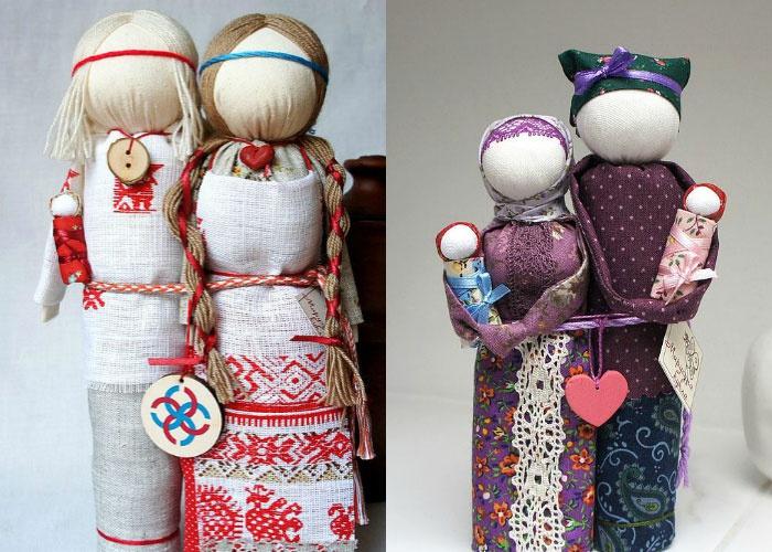 Куклы обереги для дома своими руками